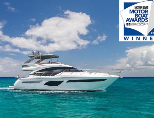 Princess F55: Winner of the Motor Boat Award 2019