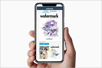 Looking for something new to read? Why not download our Watermark magazine