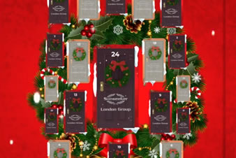 SUNSEEKER LONDON GROUP ADVENT CALENDAR 2020!